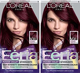 Best feria hair color violet Reviews