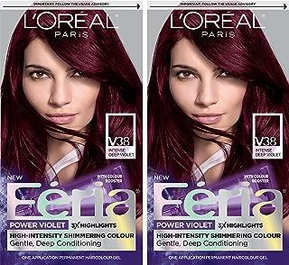 feria blue black hair dye