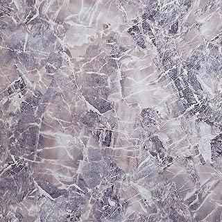 Slavyanski Vinyl Wallpaper Violet Pink Purple White Silver Gold Metallic Cracks Granite wallcoverings Textured Faux Realistic Marble Stone Decor Textures Pattern Double Rolls Wall coverings Modern 3D