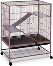 Prevue Rat and Chinchilla Cage 495 Earthtone Dusted Rose, 31 x 20.5 x 40 IN