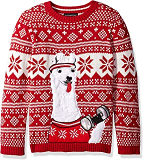 Boys Ugly Christmas Sweater Llama