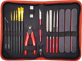 Sponsored Ad - Hobby Tools 17 Pcs   Gundam Model Tool Kit - Adults Hobby Building Craft Set - Tools for Plastic Model Kits...