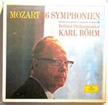Mozart: 46 Symphonien (Gesamtausgabe ~ Complete ~ Integrale) / Berliner Philharmoniker, Karl Bohm