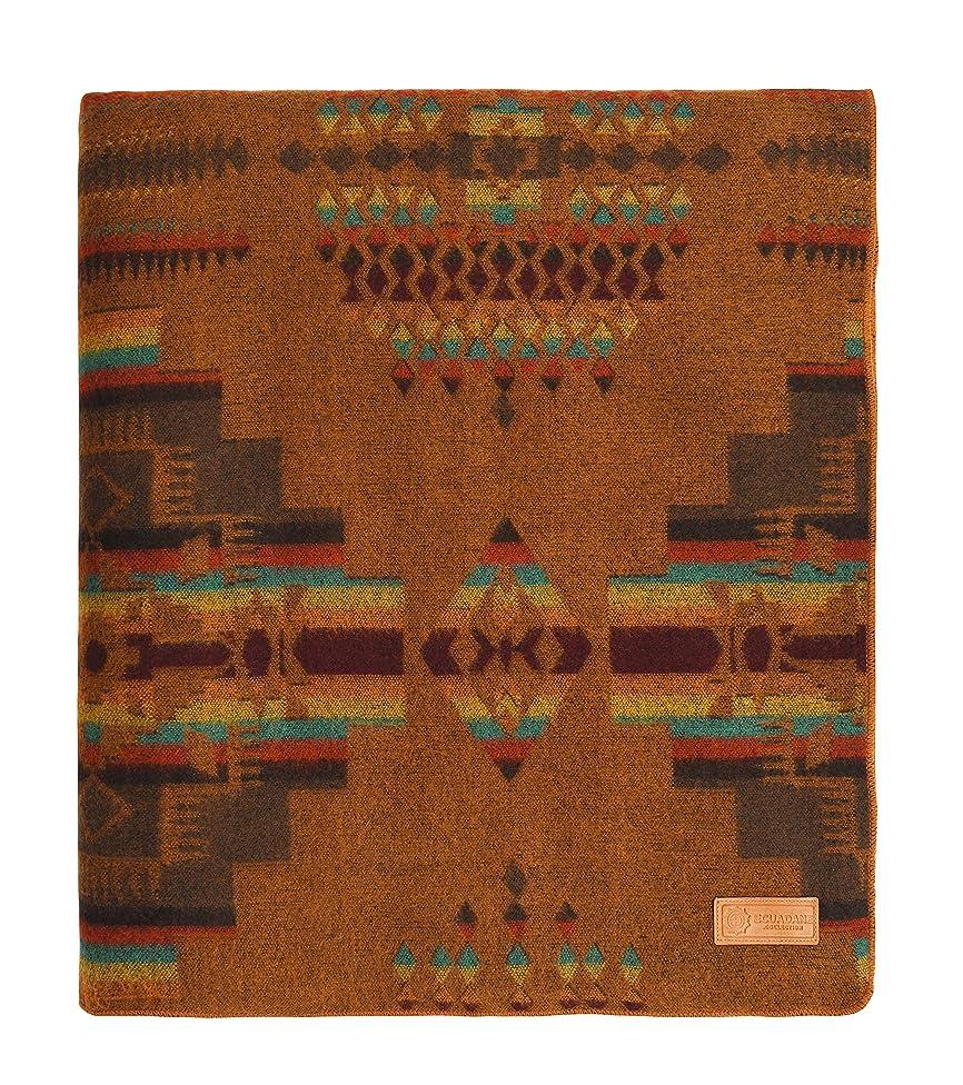 Ecuadane Artisan Woven Blanket, Andes Cruz Sand Blanket