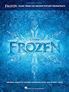 Frozen - Big-Note Piano Songbook: Music from the Motion Pict