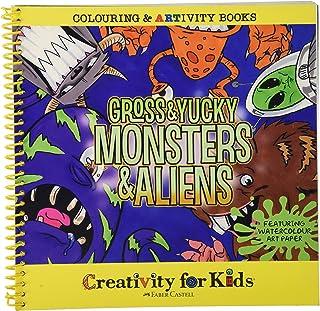 Faber-Castell Creativity Kids Coloring & ARTivity Book: Gros