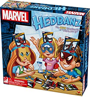 Marvel Hedbanz Board Game