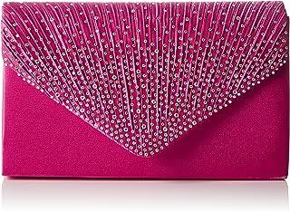 Swankyswans Damen Abby Diamante Envelope Style Bag Tasche, Einheitsgröße