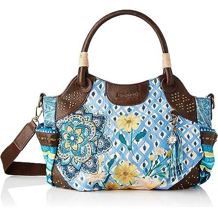 Desigual Womens Fabric Hand Bag, Blue, U