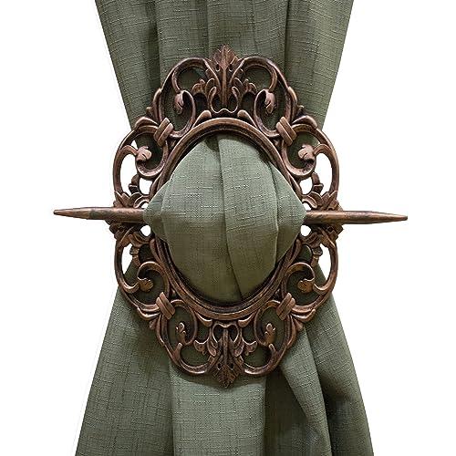 Door Knobs & Handles Honest Antique 2 Pairs Of Victorian Bronze Curtain Drapery Tiebacks Holdbacks Antiques