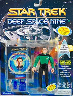 STAR TREK 1994 - Playmates Deep Space Nine - Dr. Julian Bashir - Numbered Action Figure - with Space Caps - OOP - MOC - Collectible
