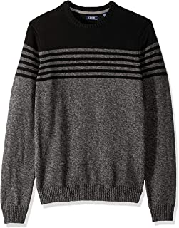 IZOD Men's Newport Fine 7 Gauge Stripe Crew Sweater