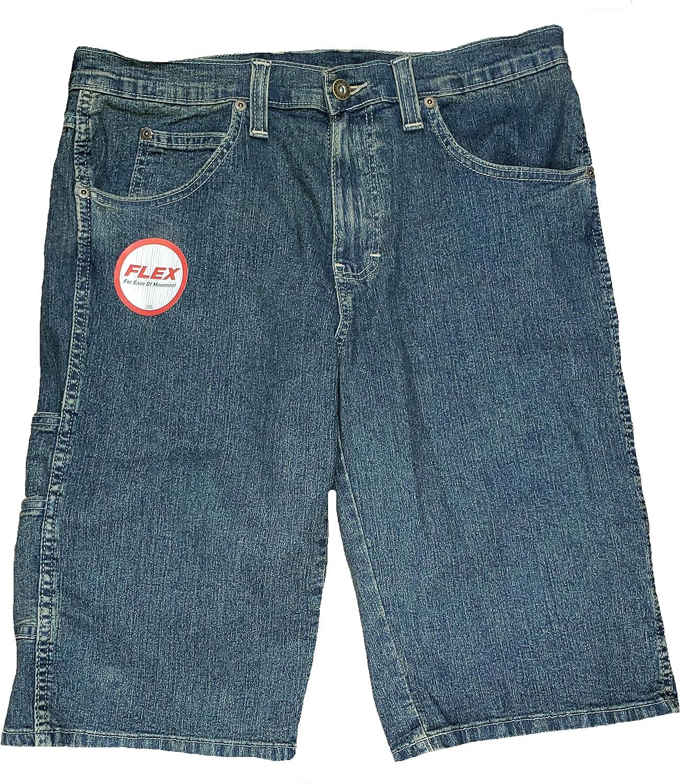Dickies Blue Denim Regular Fit Flex Denim Shorts