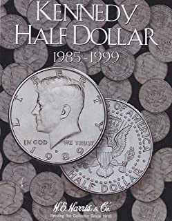 Harris Coin Folder - Kennedy Half Dollar #2 Folder 1985-1999 #8HRS2697 by H.E. Harris