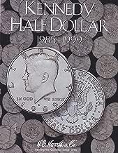 Harris Coin Folder - Kennedy Half Dollar #2 Folder 1985-1999 #8HRS2697 by H.E. Harris