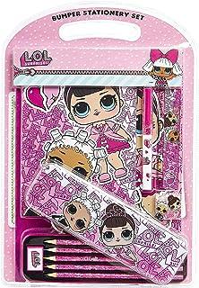 L.O.L. Surprise! Set Papeleria Bonita, Material Escolar Rosa