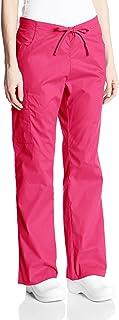 Dickies Women's Petite Mid-Rise Drawstring Cargo Pant