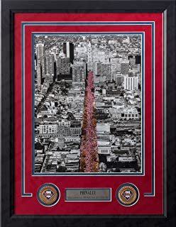 Phillies 2008 World Series Championship Parade 16x20 Framed and Matted Baseball Photo