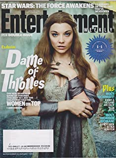 Entertainment Weekly April 1/8, 2016 Game of Thrones Cover 6 Natalie Dormer as Margaery Tyrell