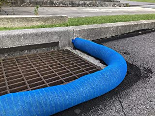 Sediment Removal Filter Sock by New Pig – Keep Harmful substances from Entering a stormwater System, Blue 5' L