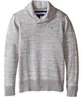 Tommy Hilfiger Kids - Robert Shawl Sweater (Toddler/Little Kids)