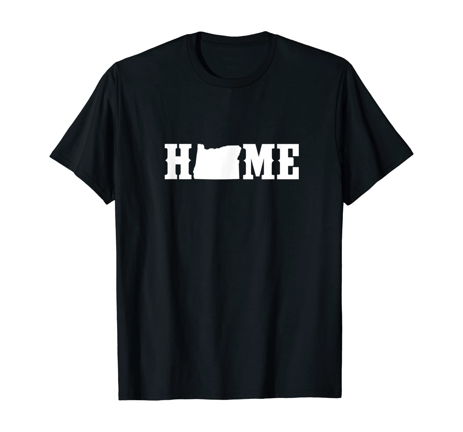 State of Oregon Home T Shirt