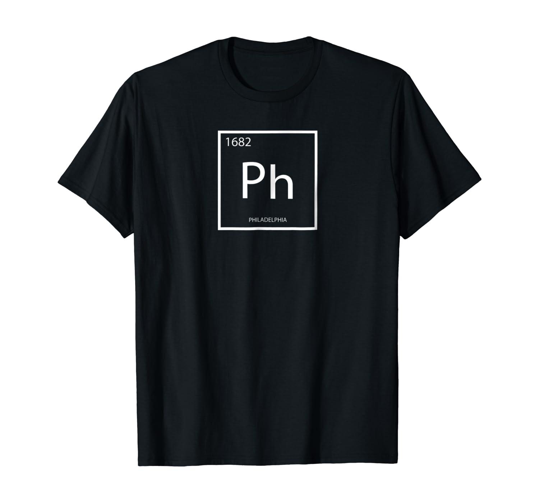 Philadelphia Black Text  Women/'s White T-shirt