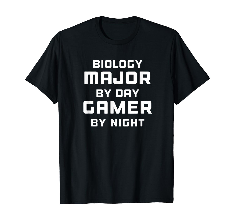 Biology Major Gamer Biology Gift For Gamer Shirts