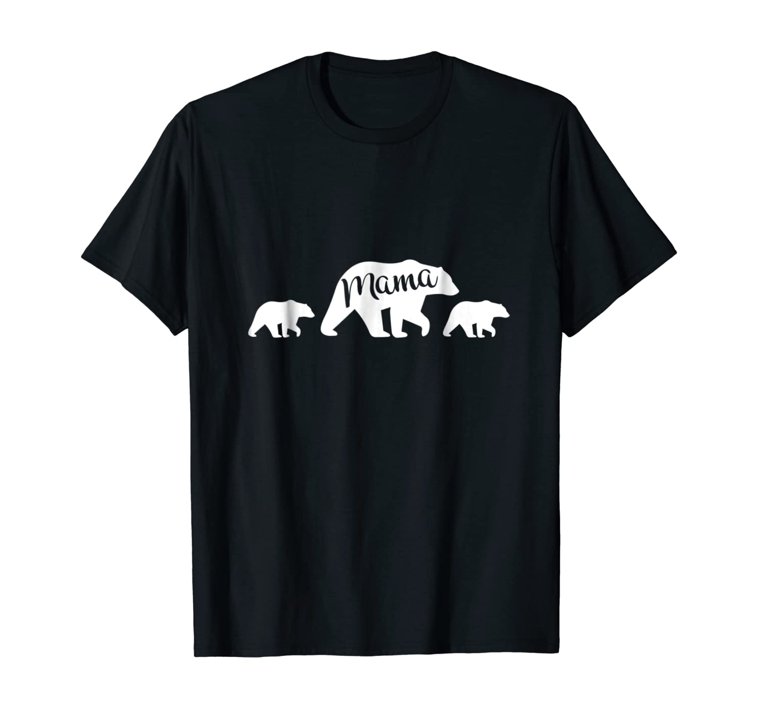 Mama Bear T Shirt with Two Cubs - Mother's Day Mom