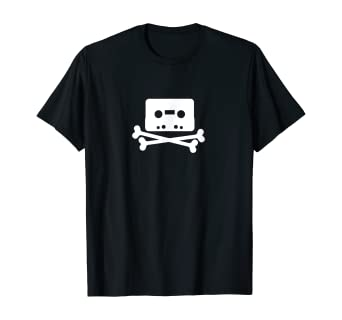 The Pirate Bay Tape Logo T-Shirt