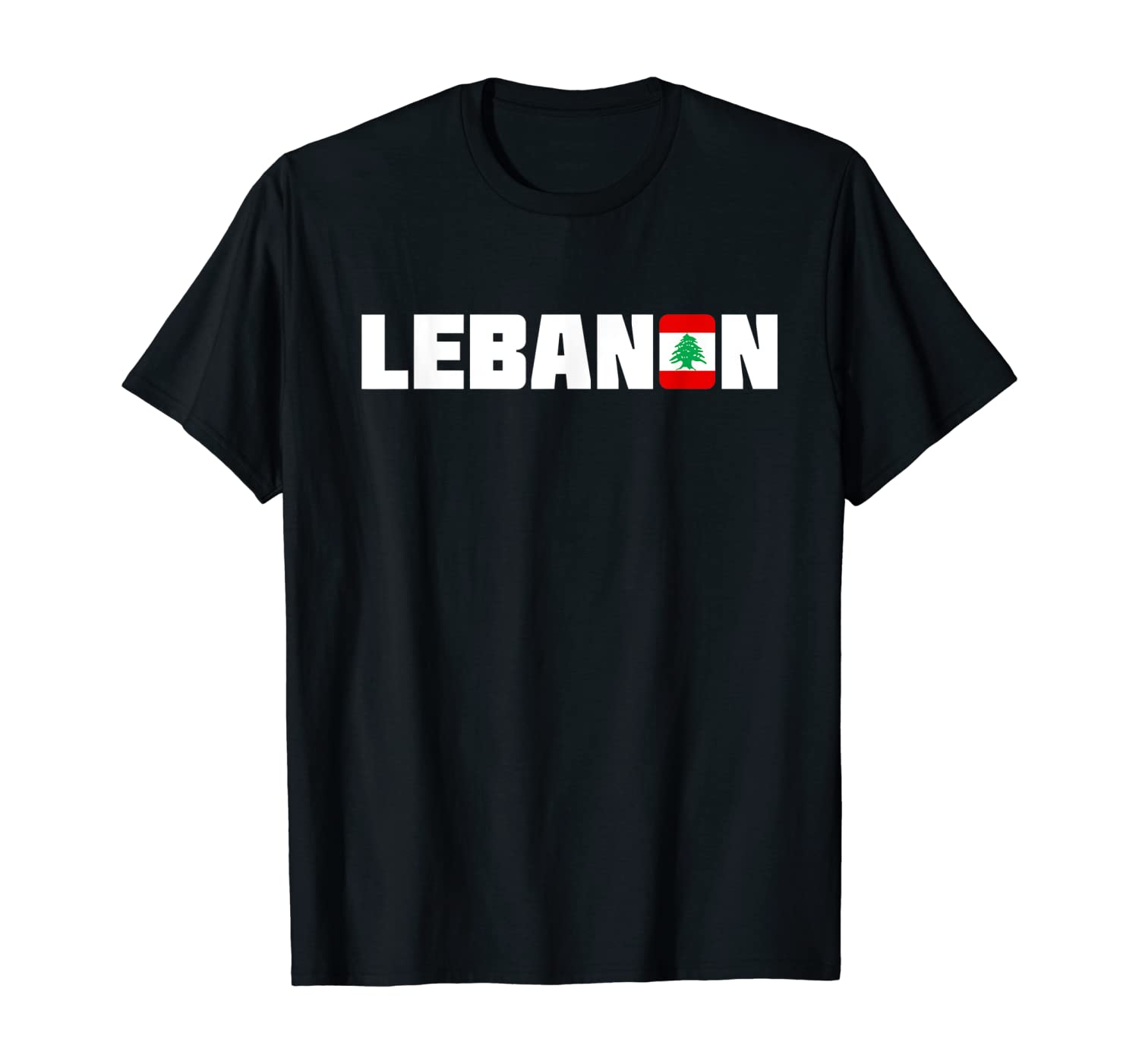 Lebanon | Lebanese Flag Nation Travel Gift Lebanon T-Shirt