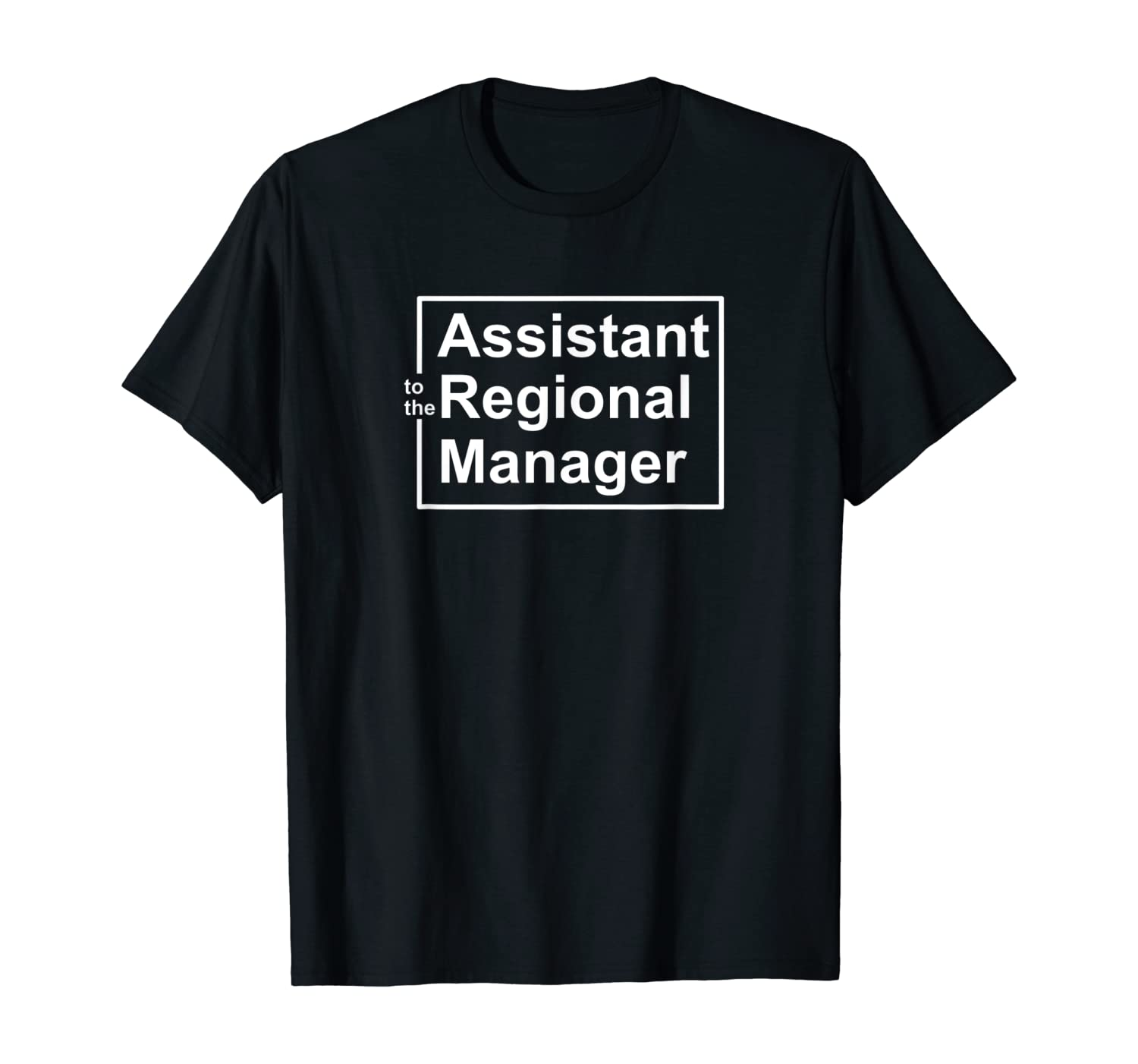 Assistant to the Regional Manager The Office Funny T-Shirt