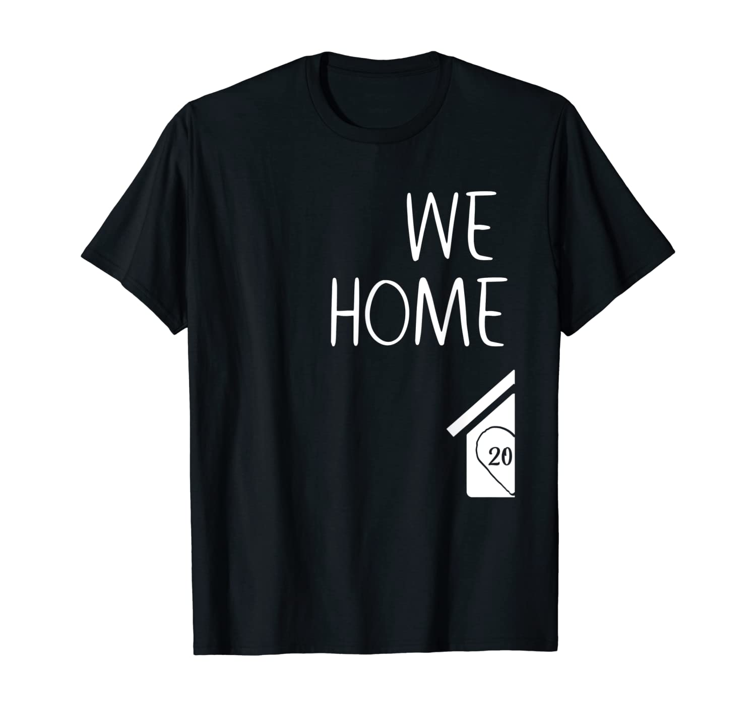 FIRST Housewarming Party New Homeowner Gift est. 2020 Couple T-Shirt