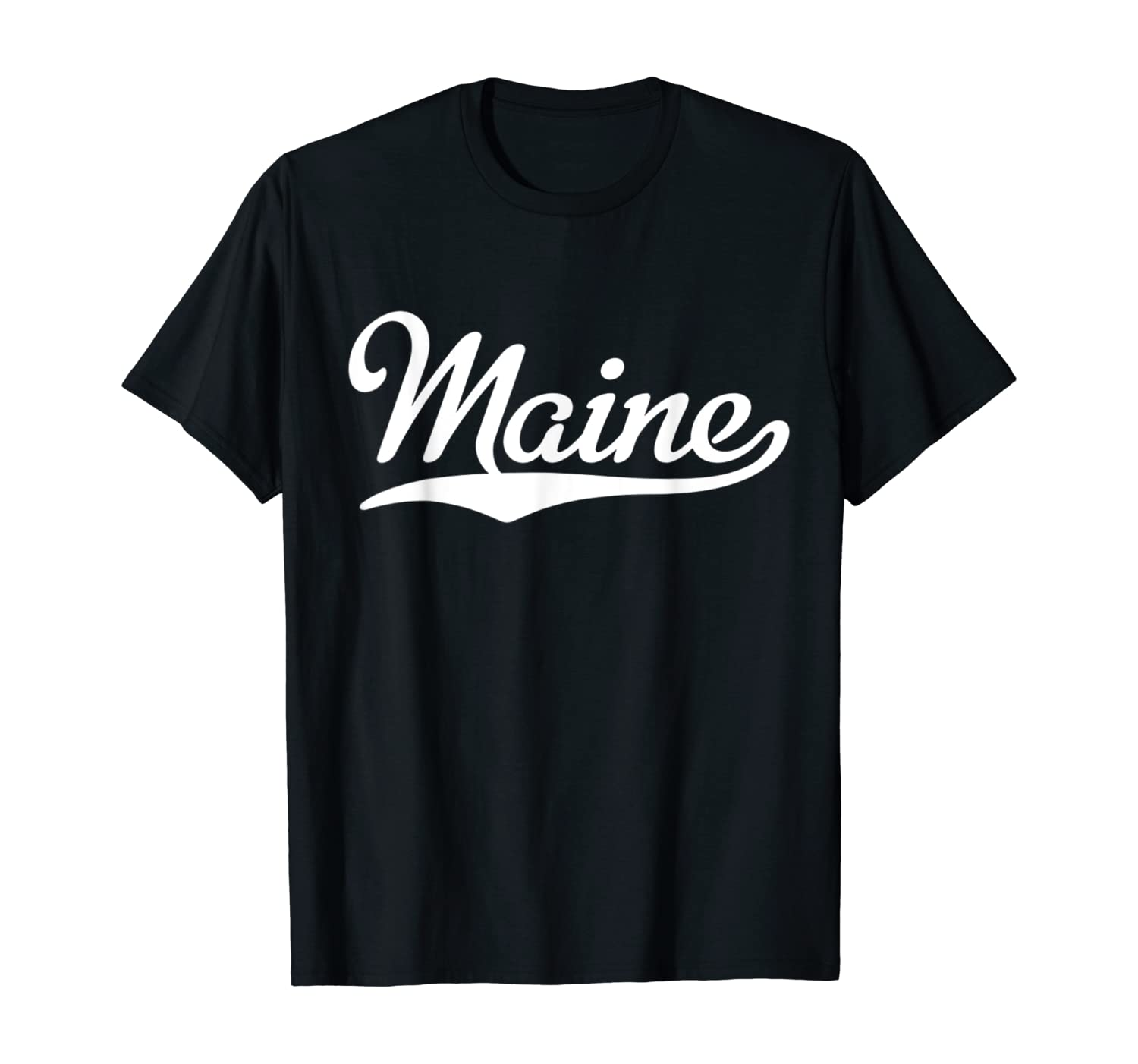 Maine Home T-shirt I Love Maine Tee State of Maine Retro Tee