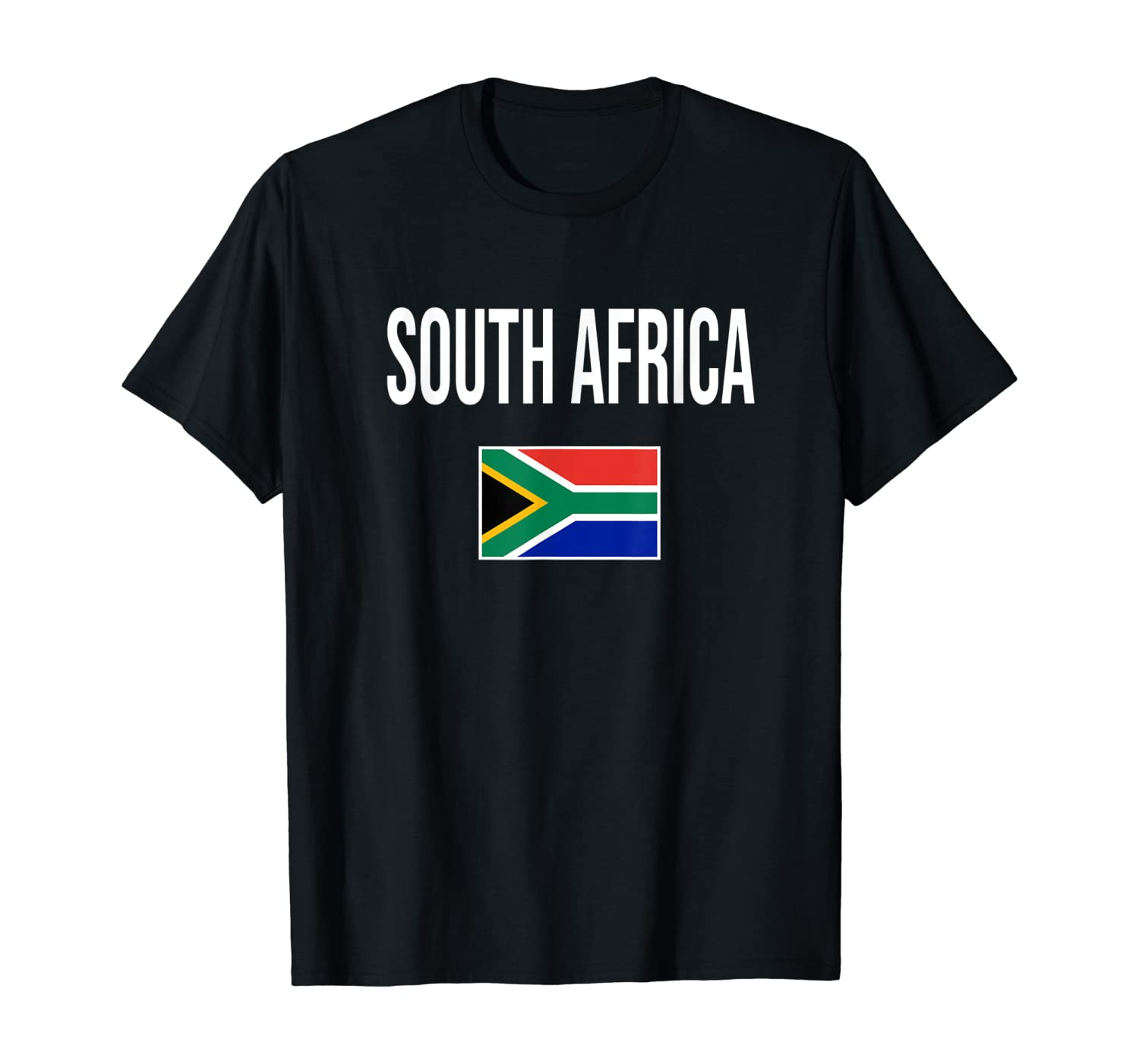 African Home Pride Classic South Africa Country Flag T-Shirt