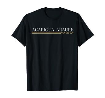 Amazon Com Acarigua Araure Venezuela T Shirt Clothing