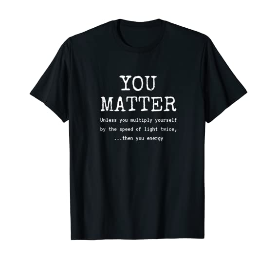 1Tee Kids Boys Cats Don/'t Care About The Matter Science T-Shirt