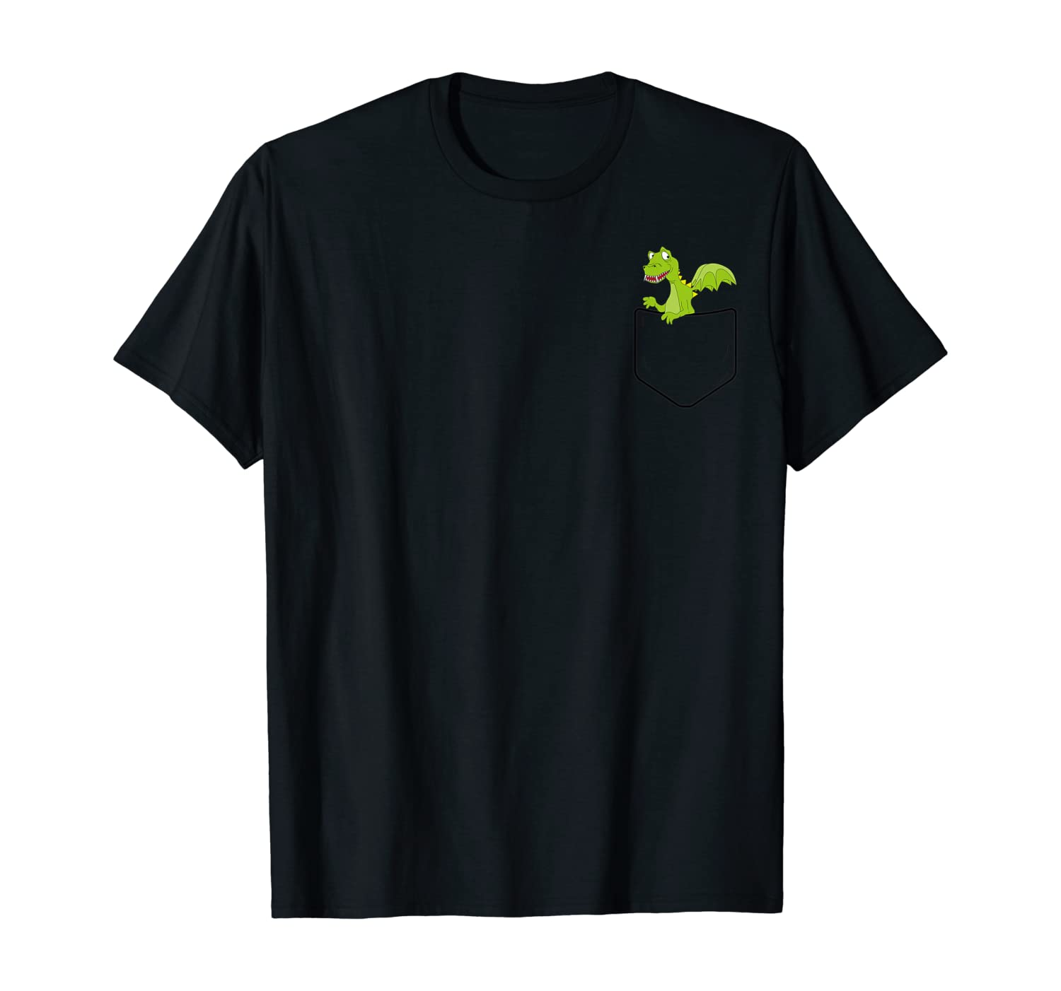 Cool Dragon in Your Pocket - Funny Dragons Lover Gift T-Shirt
