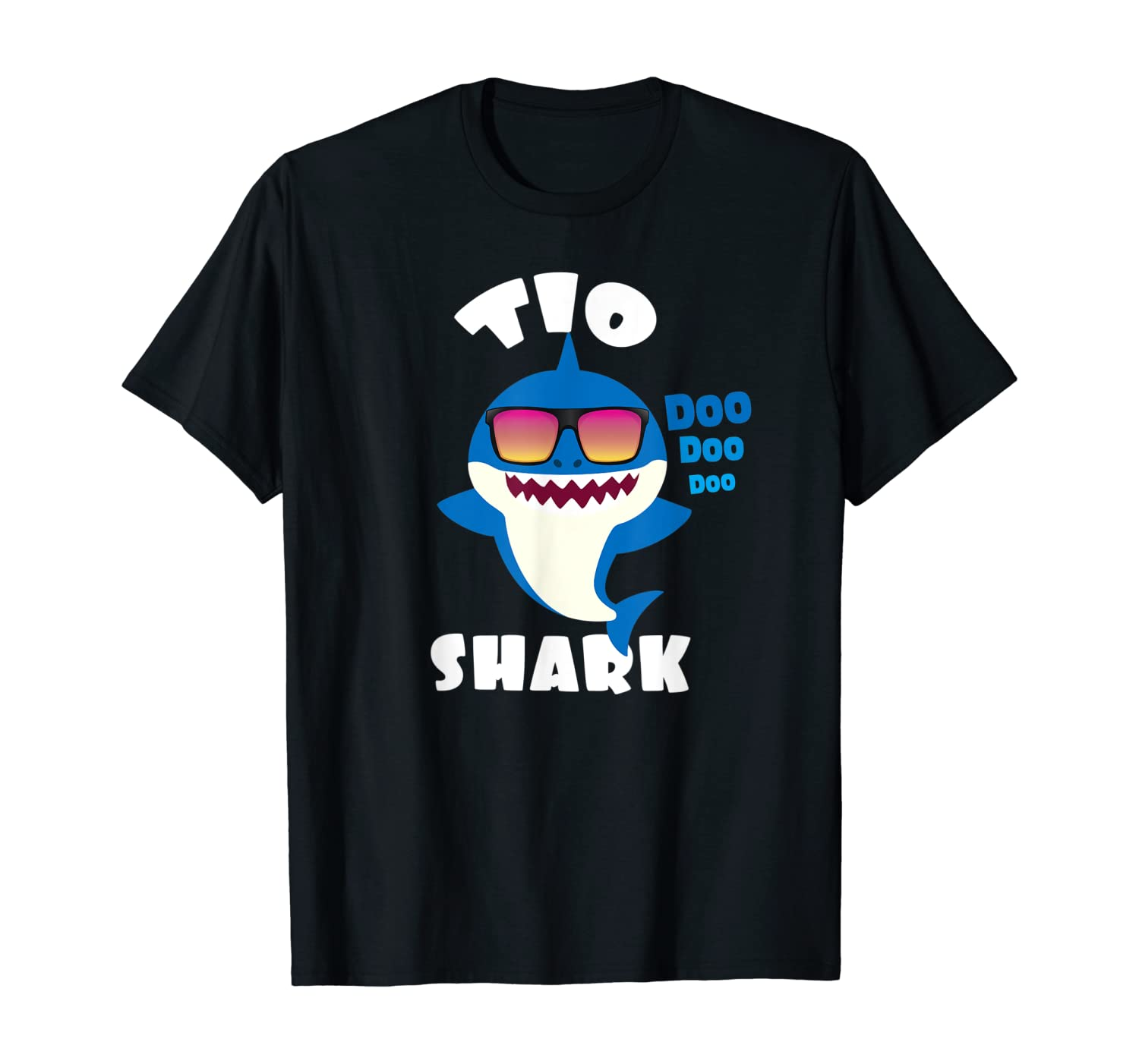 Mens Tio Shark Gift for Uncle - Camisa de Regalo Tio y Hermano T-Shirt