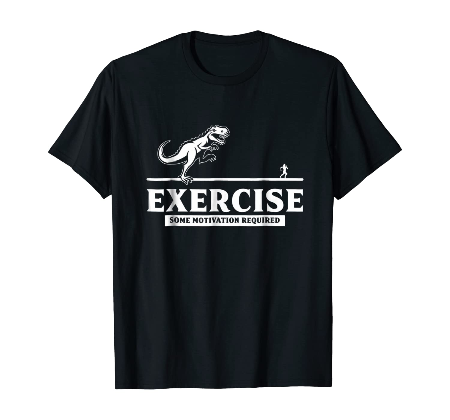 Workout Gym Shirt | Exercise Some Motivation Required