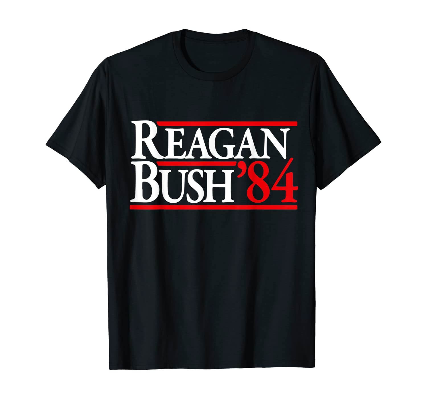 Reagan Bush '84 T-Shirt | Ronald Reagan Vintage Campaign
