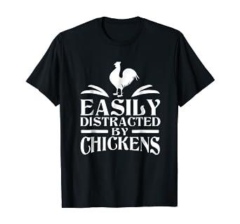 Amazon.com: Distraído fácilmente por gallinas Vintage pollo ...