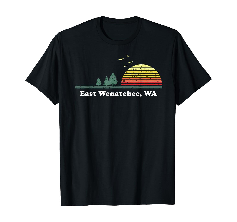 Vintage East Wenatchee, Washington Home Souvenir Print T-Shirt