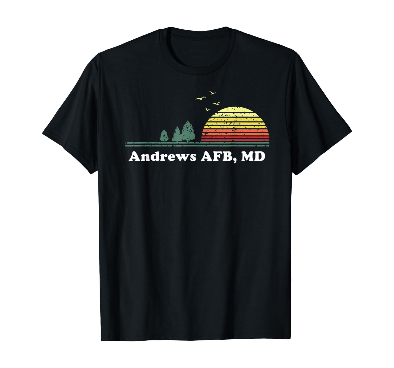Vintage Andrews AFB, Maryland Home Travel Design Souvenir T-Shirt