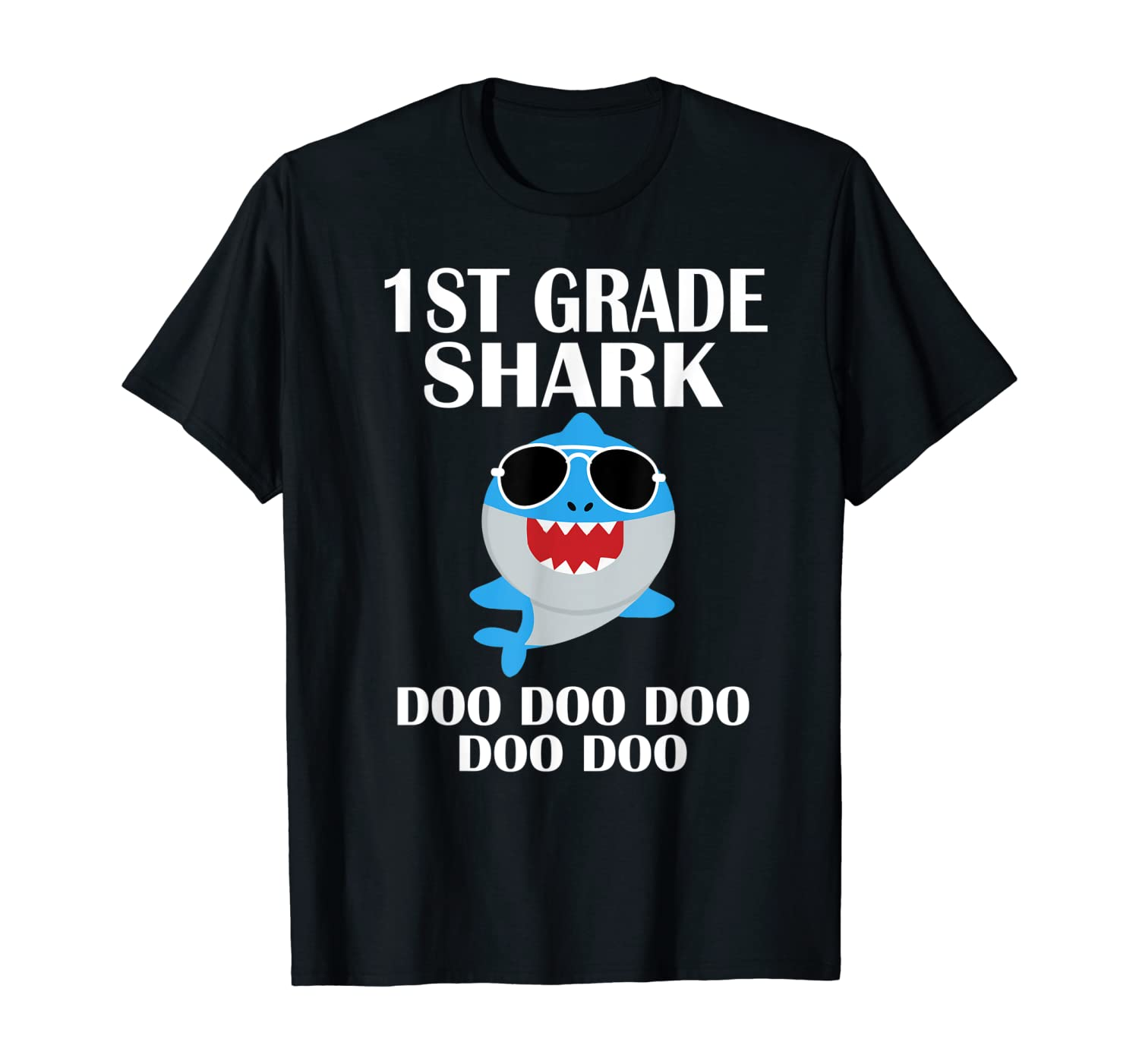 Shark First Grade T-Shirt 1st Grade Back To School Tshirt