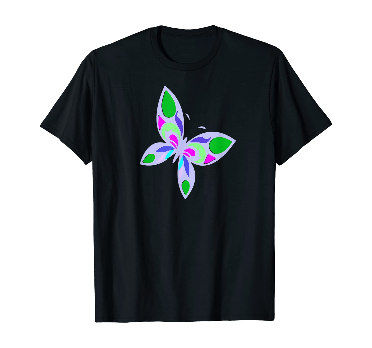 Butterfly 2 c1- birds,nature,artistic,animals,colorful,funny T-Shirt