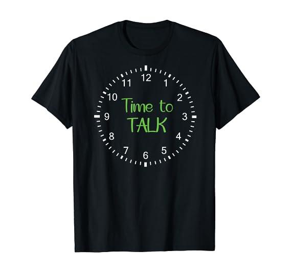 Time to Talk – Mental Health Awareness T-Shirt