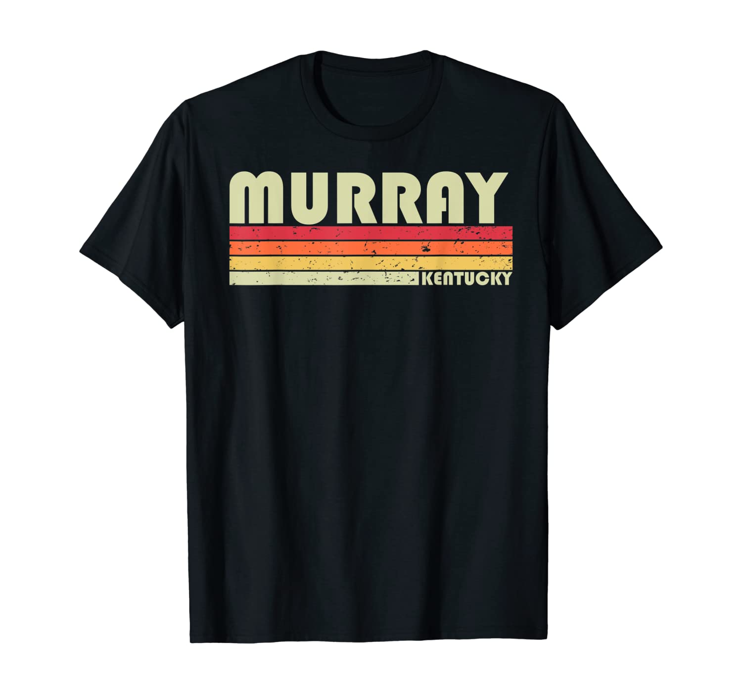 MURRAY KY KENTUCKY Funny City Home Roots Gift Retro 70s 80s T-Shirt