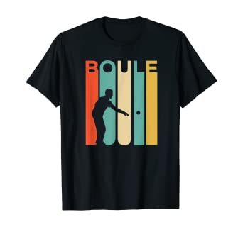 Amazon.com: Retro Vintage Boule Shirt Petanque