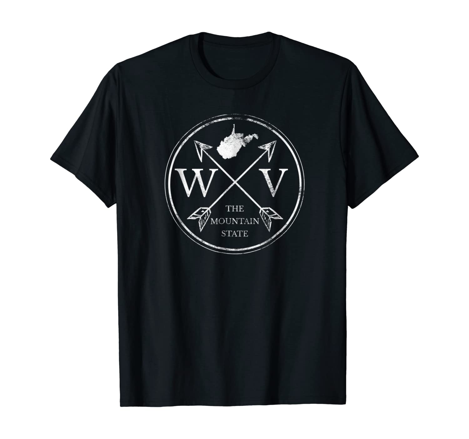 Cute West Virginia WV The Mountain State T-Shirt
